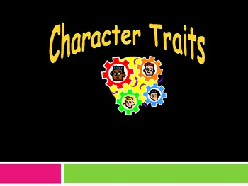 Fun Character Traits Powerpoint