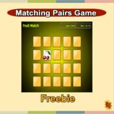 Fruit Matching Pairs Game Free