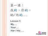 Fun Chinese Beginner 01 - My Your His Her
