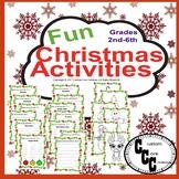 Fun Christmas Activities (Holiday Activities)