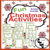 Fun Christmas Activities (Holiday Activities)
