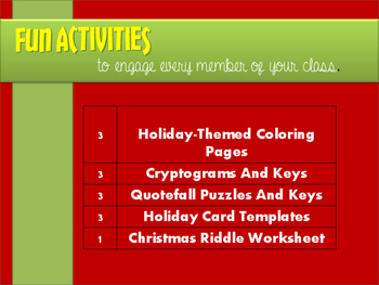 Fun Christmas Activities for When Your Sanity is Hanging by a Thread
