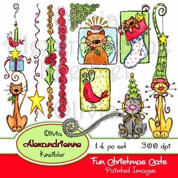 Fun Christmas Cats