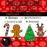 Fun Christmas Games, Activities and Worksheets BUNDLE for Primary grades!