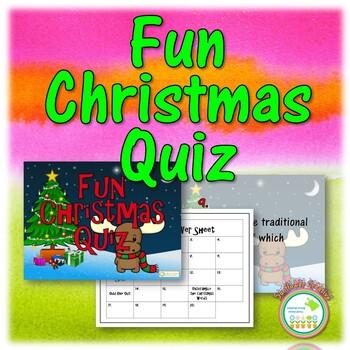 Fun Christmas Quiz