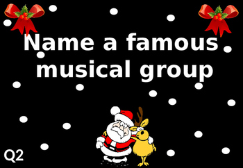 Fun Christmas Quiz for Elementary and Middle School