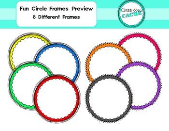 Fun Circle Frames Preview