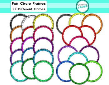Fun Circle Frames