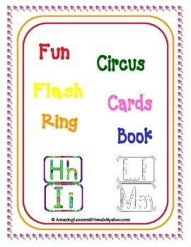 Fun Circus Flash Cards Ring Book