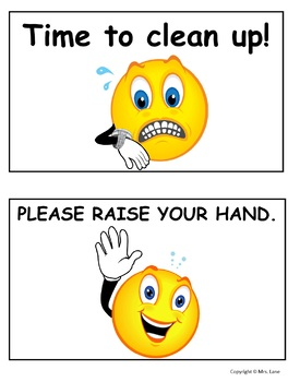 Fun Classroom Management Signs For Students