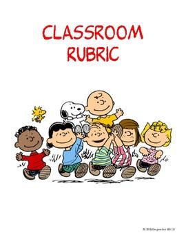 Fun Classroom Rubric
