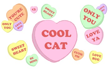 Fun, Colorful, Conversation Hearts Just in Time for Valentines