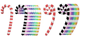 Fun, Colorful, Yummy, Candy Canes