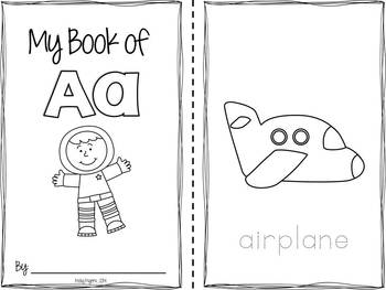 Fun Coloring Alphabet Books - {Learning My Letters!}