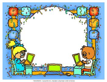 Fun Computer Border