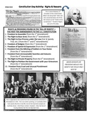 History U.S. or Government - Fun Constitution Day Activity