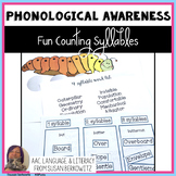 Fun Counting Syllables 5 Activities for Phonological Awareness