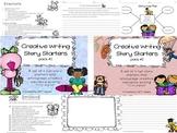 Fun Creative Writing Narrative Story Starters Packet Bundle- NO PREP
