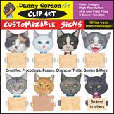Fun Customizable Cat Breed Clip Art