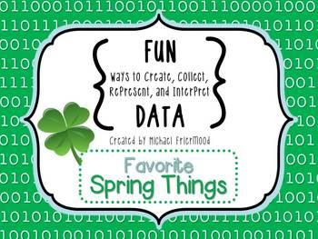 Fun DATA! {Favorite Spring Things}