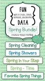 Fun DATA! {Spring BUNDLE!}