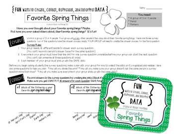 Fun DATA! {Spring BUNDLE!}