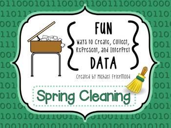 Fun DATA! {Spring Cleaning}