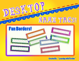 Fun Decor Desk Nametags
