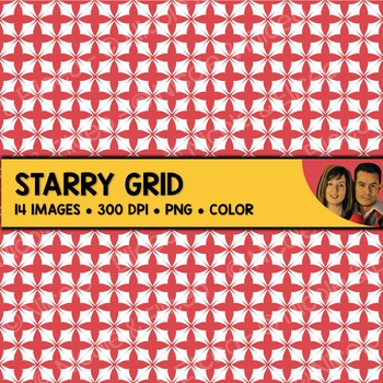 Starry Grid Backgrounds