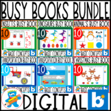 Fun Digital Busy Books Bundle. Boom Cards. Pre-K, K and Sped