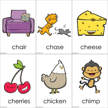 Chase the Chicken | Digraphs Reading Center Racing Game ch sh th wh