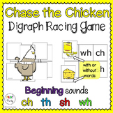 Chase the Chicken | Digraphs Reading Center Racing Game ch