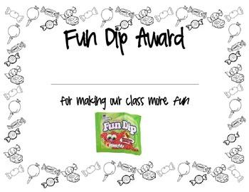 Fun Dip Award
