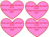 Fun Dip Valentines Tags