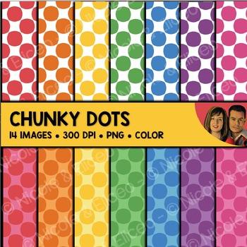 Chunky Dot Backgrounds