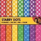Starry Dot Backgrounds