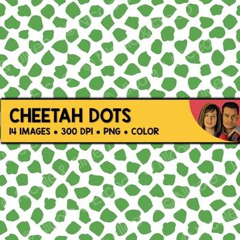 Cheetah Dot Backgrounds