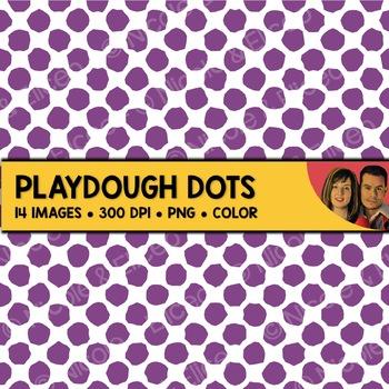 Playdough Dot Backgrounds