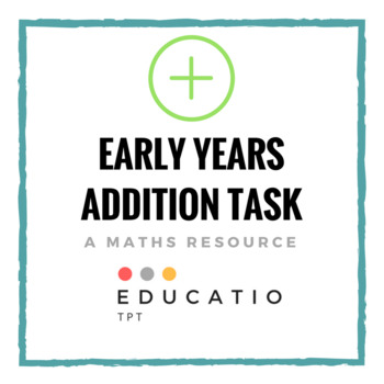 Early Years Math Task (No Prep) *Freebie
