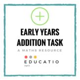 Early Years Math Task (No Prep) *Freebie