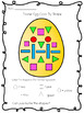 Fun Easter Egg Color By 2D Shape