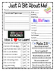 Fun & Easy Student Interest Surveys Grades 2-5