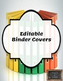 Fun Editable Binder Covers