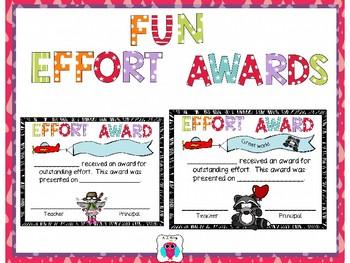 Fun Efffort Awards
