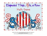 Elapsed Time Game: Math Game for 4th Grade (possibly 3rd &
