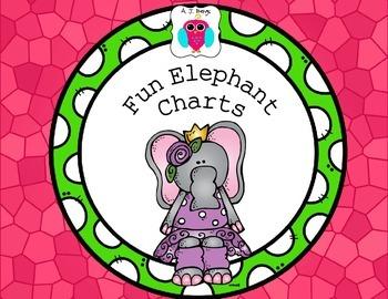 Fun Elephant Charts
