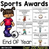 Fun End of Year Sports Awards