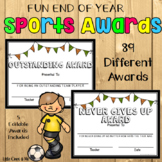 Fun End Of Year Sports Awards Editable