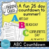 ABC Countdown to Summer {End-of-Year Activity}