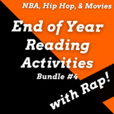 Fun End of Year Reading Activities Using Rap Songs